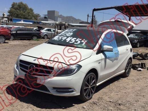 Mercedes Benz B200 2012 Por Partes Chocado Deshuese