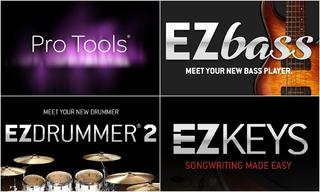 Pro Tools Hd 12.5 + Ezbass, Ezdrummer 2 Y Ezkeys.
