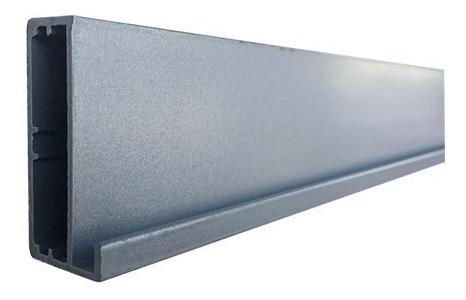 Perfil Aluminio Puerta De Vidrio 7mm Cocina Electroestatico