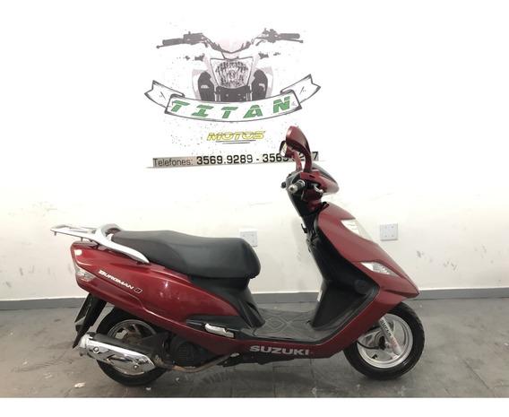Burgman 125 2012