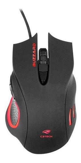 Mouse Gamer Buzzard 3200dpi Com Iluminação Mg-110bk C3tech