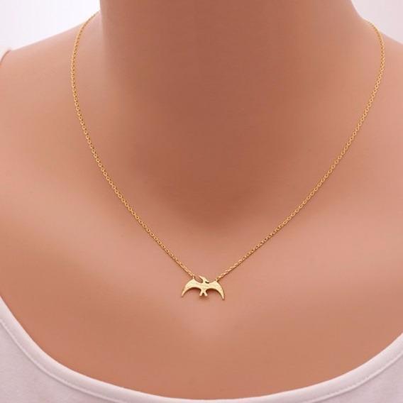 Collar Dinosaurio Dorado