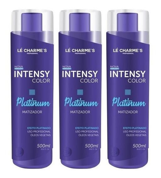 Kit Intensy Color Platinum 500ml 3 Unidades