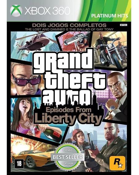 Jogo Gta 4 Para Xbox 360 - Usado