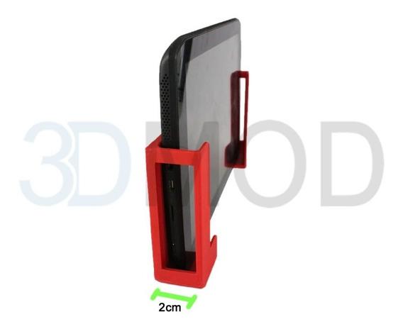 Suporte De Parede Para Tablet iPad Lateral 2 Cm
