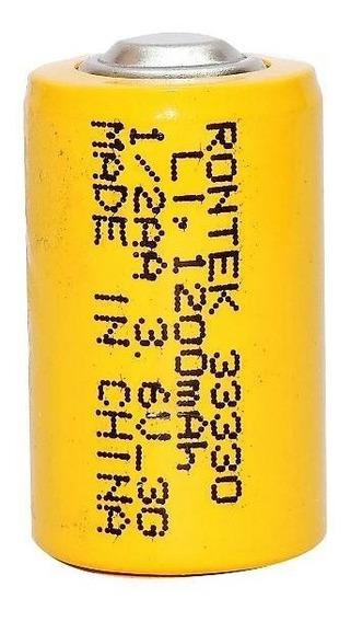 Pilha Bateria 1.2v 1200mah Aa Com Top 1,2v 1200mah (14x25mm)