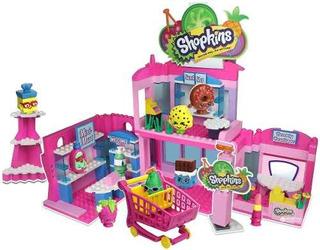 Shopkins Kinstructions Shopville Centro Comercial 410 Piezas