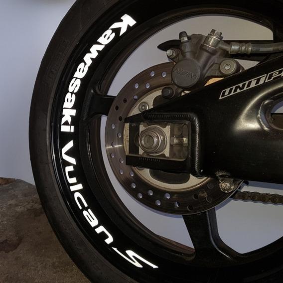 Adesivo Large Interno Tuning M1 Roda Moto Kawasaki Vulcan