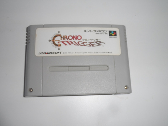 Chrono Trigger - Original Super Famicom Japonês