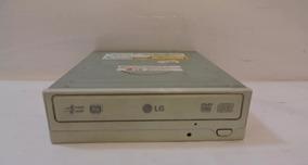 Leitor E Gravador Cd/dvd Lg Modelo Gh22np20 - Branco