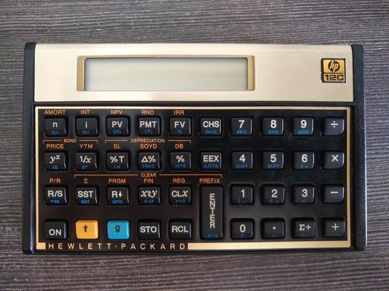 Calculadora Financeira Hp 12c Muito Conservada.