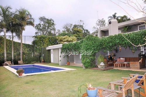 Casa Residencial À Venda, São Fernando Golf Club, Cotia. - Ca2427