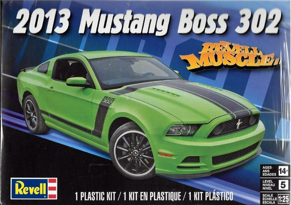 2013 Mustang Boss 302 Escala 1/25 Revell 854187