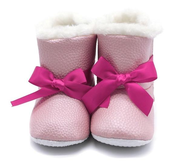 Botas De Algodão Elegante Para Inverno Criança Infantil Bebê
