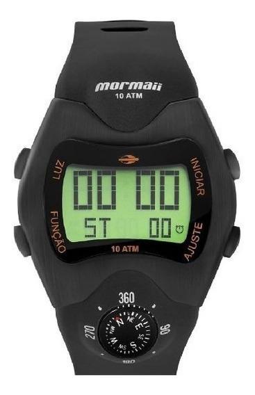 Relógio Mormaii Bussola Digital Retro Mo1324ac/2p Cx E Nota