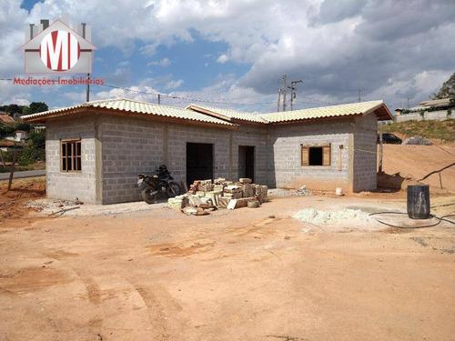 Linda Chácara Em Fase De Acabamento, Com 3 Dormitórios, Piscina, Pomar, Edícula, À Venda, 2470 M² Por R$ 450.000 - Zona Rural - Pinhalzinho/sp - Ch0810