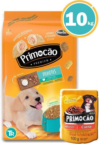 Ración Para Perro Primocao Cachorro+ Obsequio Y Envío Gratis