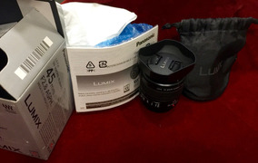 Lente Panasonic Leica Dg Macro-elmarit 45mm