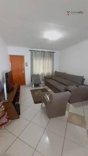Sobrado Com 2 Dormitórios À Venda, 100 M² Por R$ 360.000 - Jardim Irene - Santo André/sp - So0924