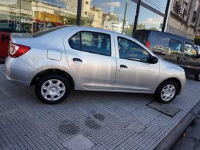 Renault Logan Expression 4p 0km Anticipo Y Cuotas Burdeos 1