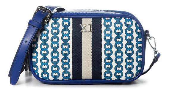Bandolera Mujer Xl Extra Large Dixie Azul
