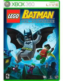 Lego Batman The Videogame Xbox 360 Lacrado Mídia Física