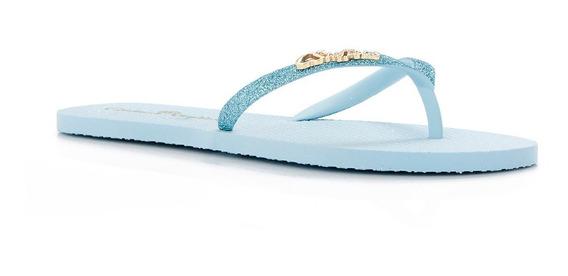 Chinelo Flat Azul Bebe - R0305445840