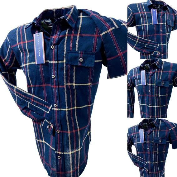 Camisa Casual De Cuadros