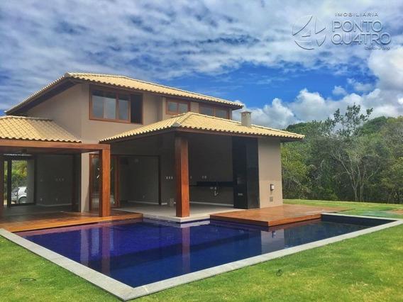 Casa Em Condominio - Praia Do Forte - Ref: 3747 - V-3747