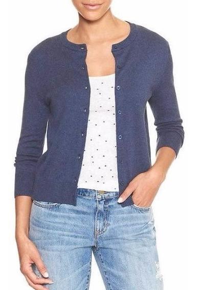 Suéter Gap Mujer Azul Profundo Varias Tallas
