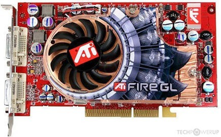 Tarjeta De Video Firegl X2-256t Agp 256 Mb