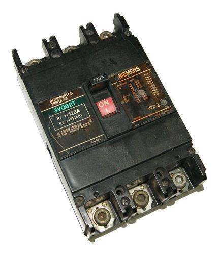 Totalizador 125 Amp - 3vq62t Siemens Cod. 01821