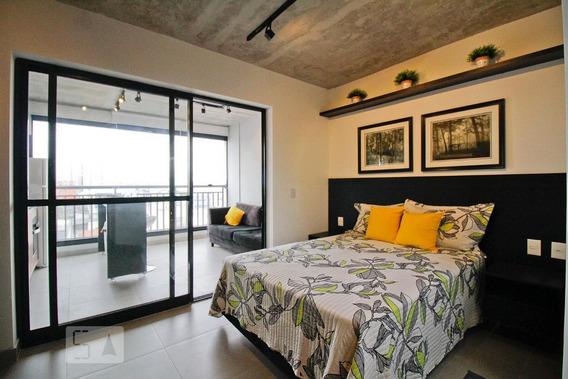Apartamento Para Aluguel - Bom Retiro, 1 Quarto, 30 - 893020821