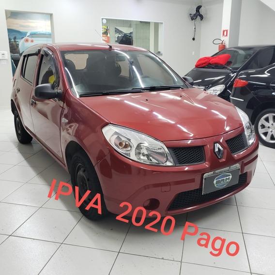 Sandero 1.0 Autentique Modelo 2010 Apenas R$ 9900,00