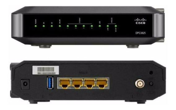 Cable Modem Wifi Cisco Dpc3825
