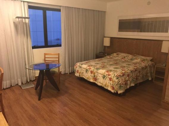 Flat Impecável Para Locação Em Moema - 1 Dormitório - 1 Vaga De Garagem! - Fl0675