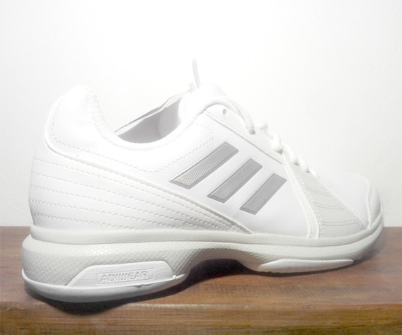 Zapatillas Blancas adidas Mujer Talle 38 Nuevo Con Etiqueta