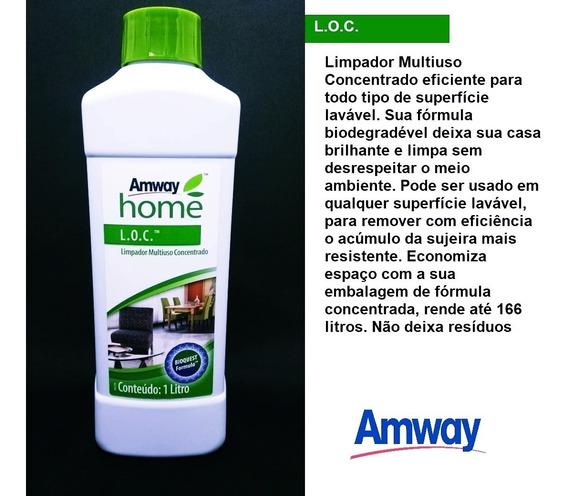 1 Loc Limpador Multiuso Concentrado Produto Ecológico Amway - Dermatologicmente Testado / Produto 100% Natural Verde