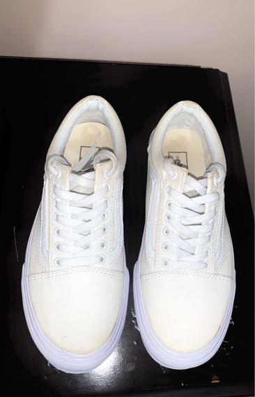 Tênis Vans Old Skool Branco