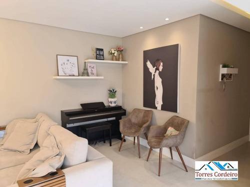 Apartamento Com 2 Suites + 2 Vagas - Panamby - Ap0410