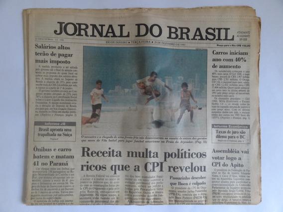 Jornal Do Brasil 2 Edições Anos 1993 Completo E 1995 Parcial