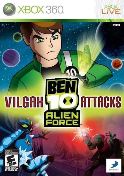 Ben 10 Alien Force Vilgax Attacks Xbox 360 Usado Original