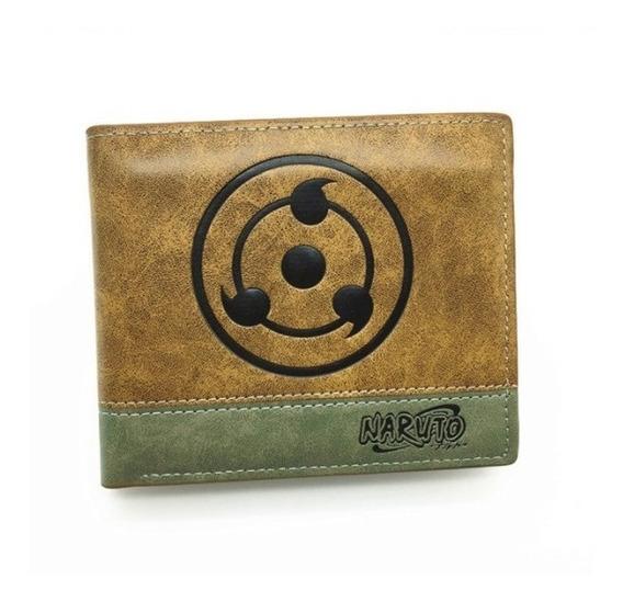 Cartera Naruto Billetera Uchiha Sharingan Envío Gratis