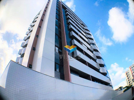 Apartamento Com 3 Quartos À Venda, 72 M² Por R$ 350.433,06 - Farol - Maceió/al - Ap0425