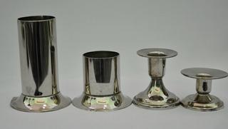 1710-04-02-90 4 Pzs.p/velas Fig. Metal Alt. Base Peso $