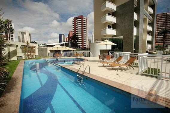 Excelente Apartamento De 122m², Cocó, Fortaleza. - Ap0146