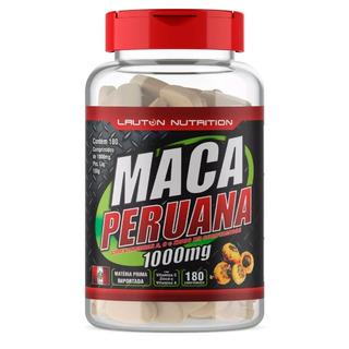 Maca Peruana 180 Cápsulas 1000mg Testosterona Energia Libido
