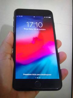 iPhone 7 Plus 256g Preto Fosco Bateria 100% Estado De Zero