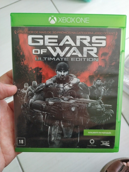 Gears Of War Ultimate Edition Xbox One Usado M. Física