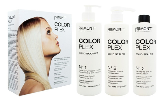 Primont Color Plex Tratamiento Restructurante Protector Pelo